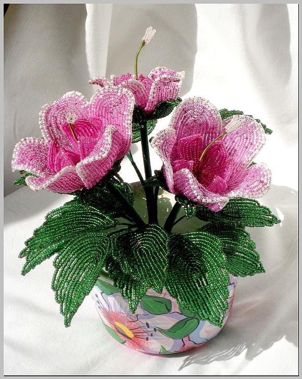 Бисероплетение цветы