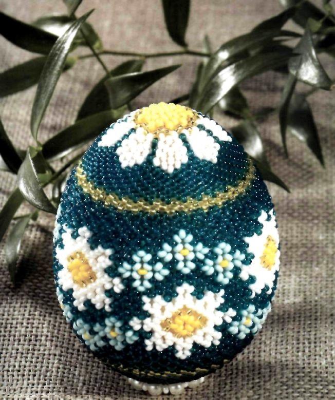Пошаговое пасхальное яйцо