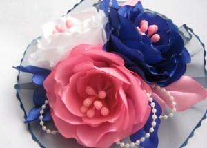 Цветочная бутоньерка на свадьбу