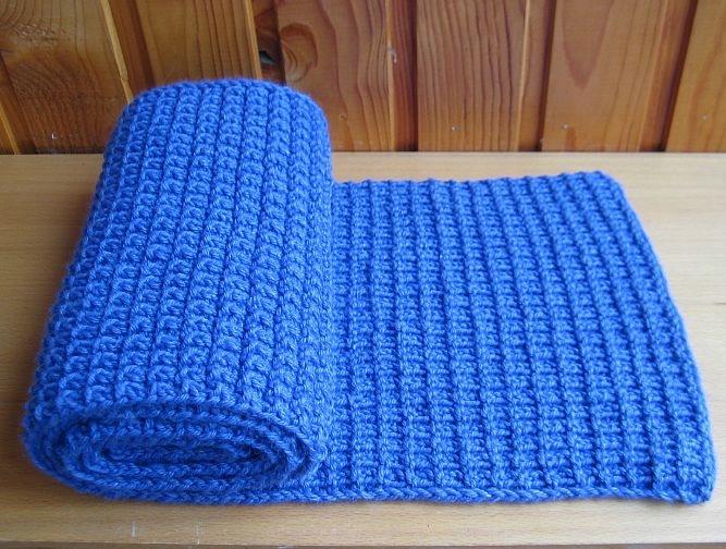 Схемы вязания двухсторонних шарфов 452