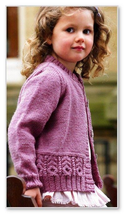 Вязание кофт для девочки мастер класс 51