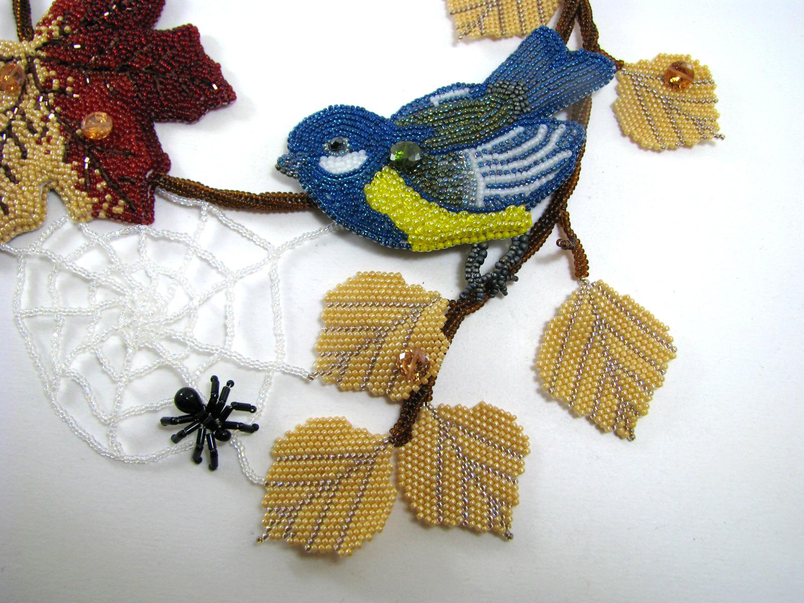 схема браслета мозаичным плетением из бисера