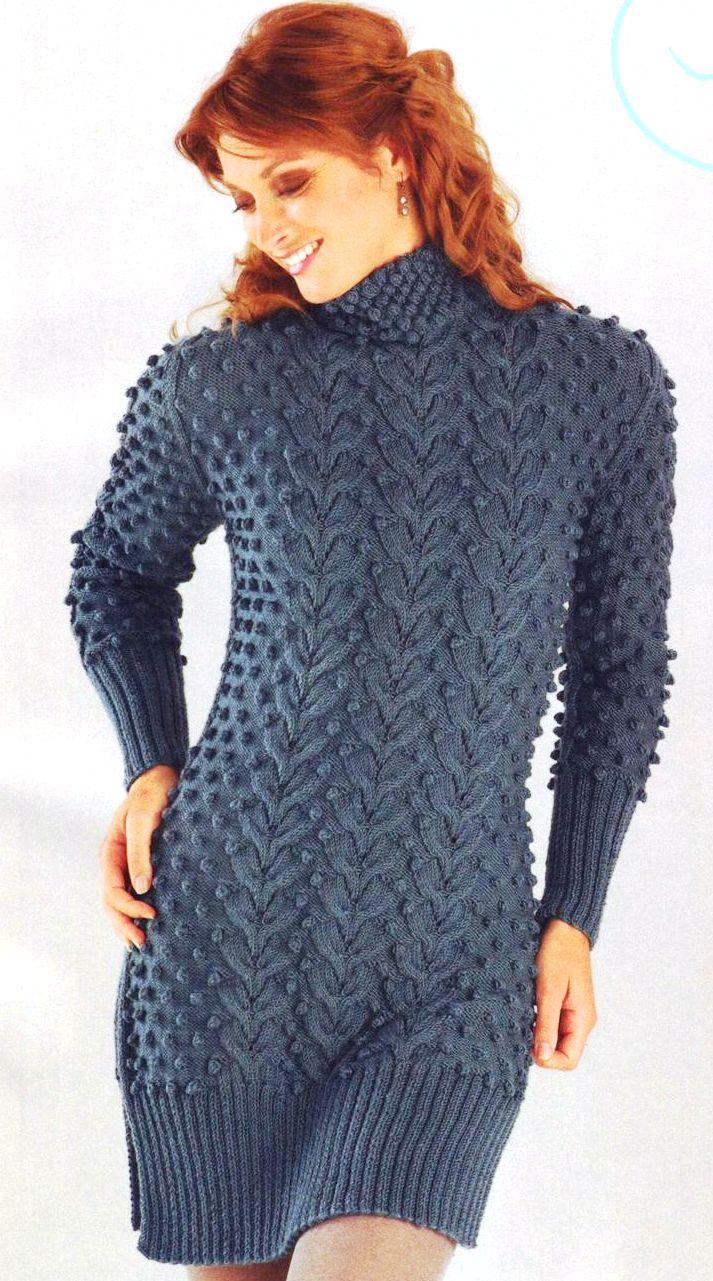 Схемы вязания крючком пальто для женщин - описание 42