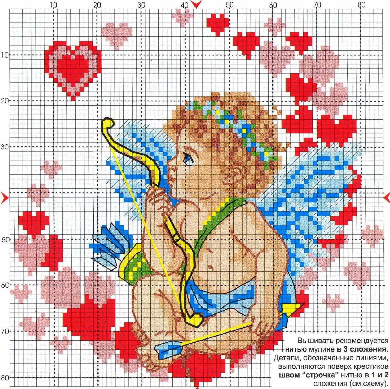 Вышивка крестиком схемы картинки: для начинающих маленькие 24