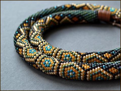 Плетение жгута из бисера для начинающих видео